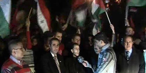 مسيرات شعبية في مدينة حلب
