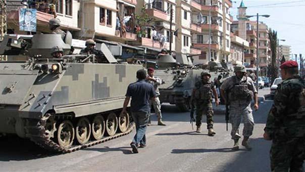 الجيش في طرابلس