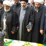 مدينة بعلبك شيعت محمد باقر يزبك نجل رئيس الهيئة الشرعية في حزب الله الشيخ محمد يزبك