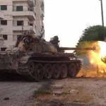 الجيش السوري يتقدم في ريف اللاذقية والطائرات الروسية تدك مواقع المسلحين في درعا