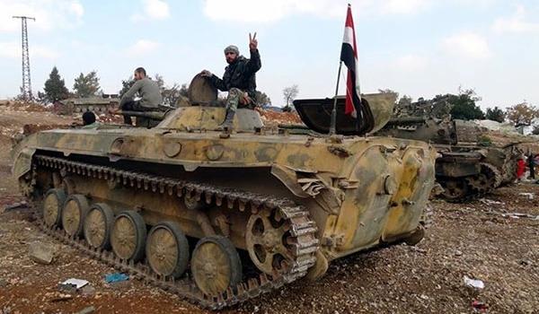 الجيش السوري يحرر بلدة مرج السلطان شرقي دمشق