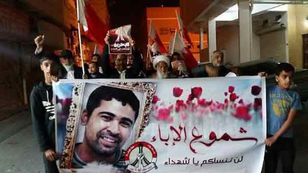 البحرين تستدعي آباء وذوي شهداء الثورة محذرة إياهم من رفع صور أبنائهم أو المشاركة في الحراك