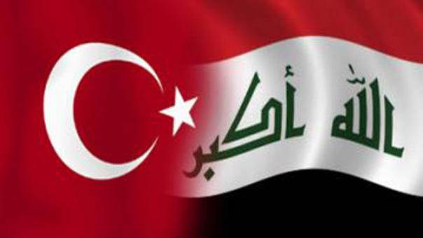 العلمين التركي والعراقي