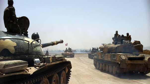 الجيش السوري يسيطر على جبل النوبة الاستراتيجي بريف اللاذقية الشمالي