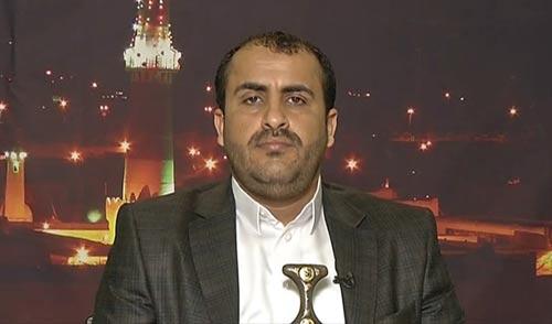 الناطق الرسمي باسم حركة أنصار الله محمد عبد السلام