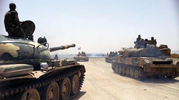 الجيش يستعيد السيطرة على بعض المناطق في ريف درعا