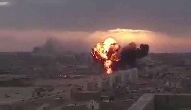 150 قتيلاً لتحالف العدوان ومرتزقته بقصف يمني بباب المندب