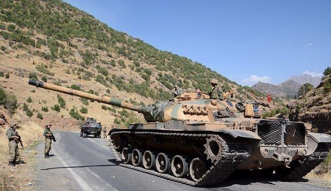 التوغل التركي في الأراضي العراقية