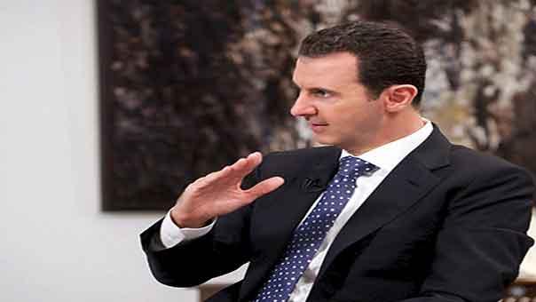 """الأسد: الولايات المتحدة هي غير جادة في محاربة """"داعش"""" وتركيا شريان الحياة لـ""""داعش"""""""