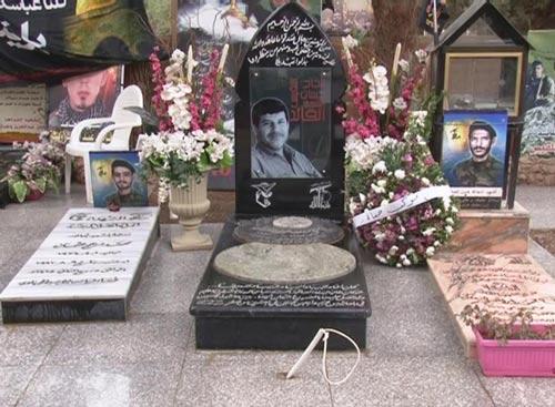 ضريح الشهيد القائد حسان اللقيس في الذكرى الثانية لاستشهاد