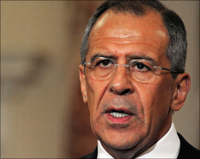 لافروف يؤكد دعمه وحدة الاراضي العراقية