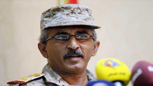 الناطق الرسمي باسم الجيش اليمني العميد الركن شرف غالب لقمان