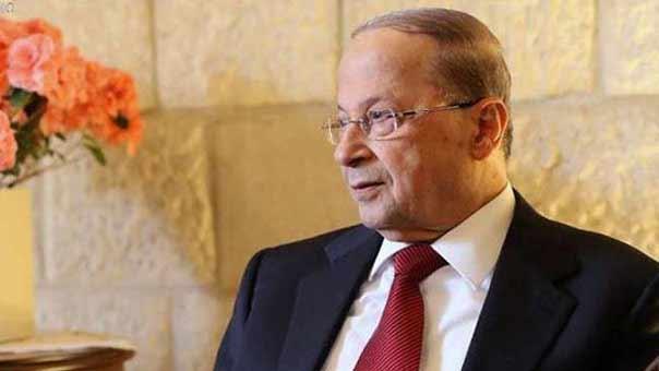 العماد عون تعليقاً على إيقاف بث المنارعبر عربسات