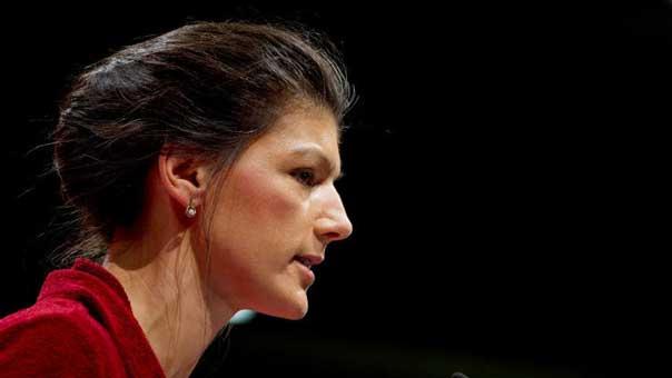 ممثلة الحزب اليساري الألماني سارة فاغنكنيخت