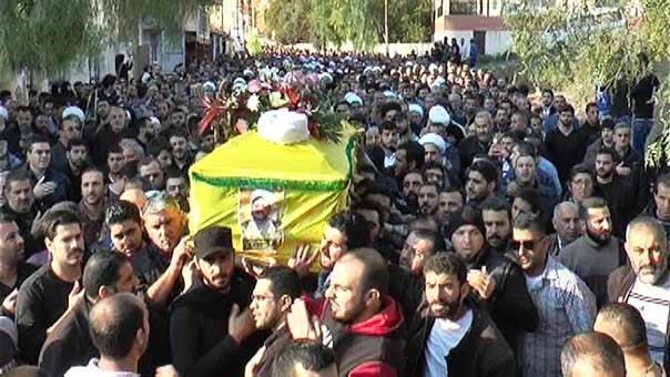 حزب الله شيع فقيد العلم والجهاد سماحة الشيخ محمد خاتون