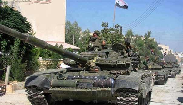 الجيش السوري يسيطر على بعض المرتفعات بريف اللاذقية الشمالي ويصد هجوماً للمسلحين في ريف درعا الشمالي