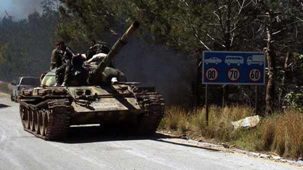 الجيش السوري يسيطر على مرتفع في ريف اللاذقية