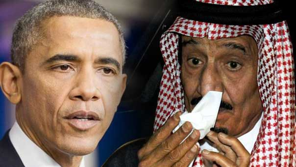 ملك السعودية واوباما
