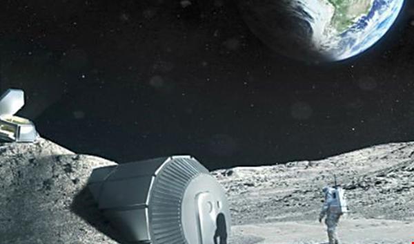 رؤية …. قرية على سطح القمر