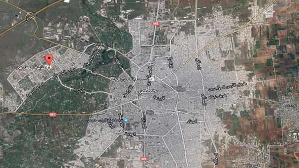 حي الوعر في حمص