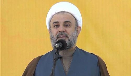 نائب رئيس المجلس التنفيذي في حزب الله الشيخ نبيل قاووق