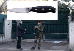 فرنسا: الشخص المعتدي على المعلم بسكين مواطن تركي