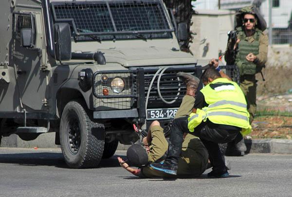 عملية طعن في فلسطين المحتلة