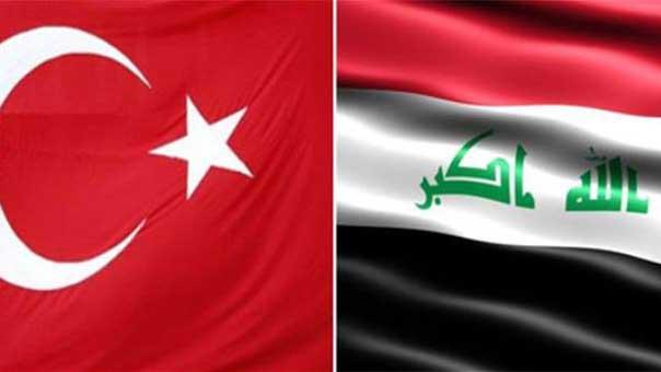 علمي تركيا والعراق