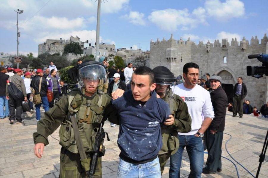 فلسطين اعتقال