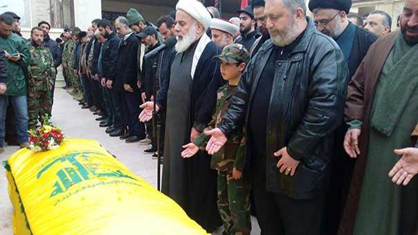 تشييع الشهيد المجاهد حسن علي احمد صبرا في جبشيت
