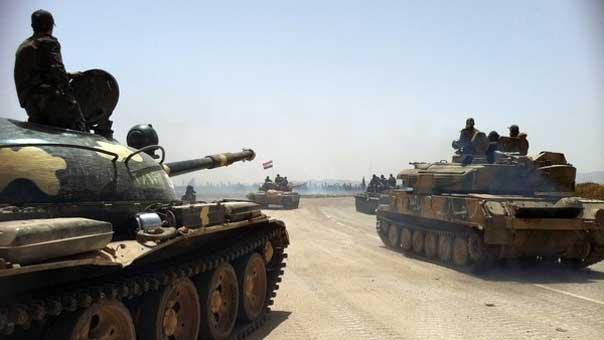 دبابات للجيش السوري