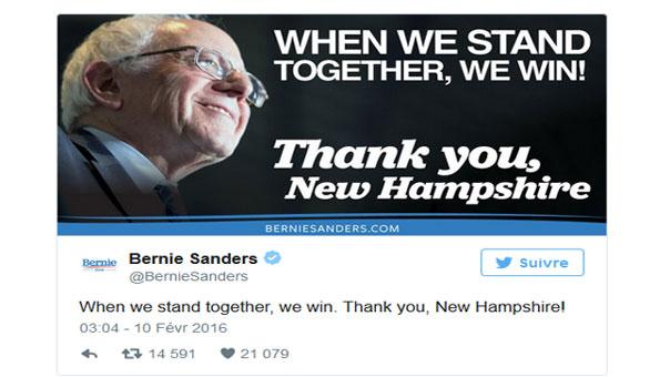 الولايات المتحدة: فوز ترامب وخسارة كلينتون أمام ساندرز في انتخابات نيو هامشير
