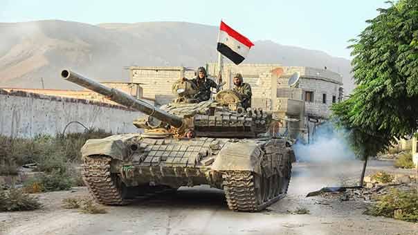 """الجيش السوري يقضي على عشرات الإرهابيين من """"داعش"""" في ريفي حماة ودير الزور"""