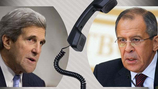 لافروف وكيري يؤكدان أهمية التنسيق العسكري الوثيق في سوريا