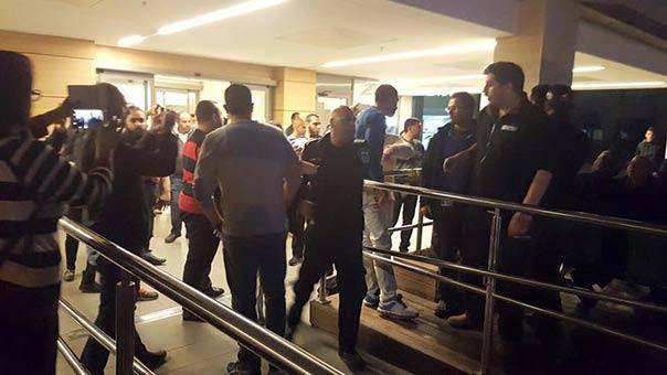 اعتقال النشطاء وإخراجهم من مستشفى العفولة