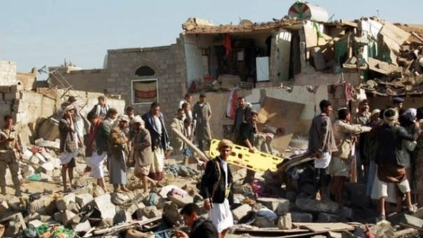 11 شهيدا في غارة على صنعاء