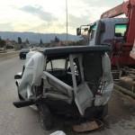 إصابة لبناني في حادث سير على اوتستراد شكا شمال بيروت (صورة)