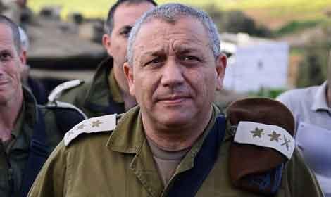 رئيس أركان جيش الاحتلال غادي أيزنكوت