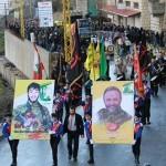 حزب الله وجمهور المقاومة شيّعوا ثلة من الشهداء الأبطال