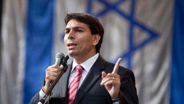 سفير الكيان الصهيوني الدائم لدى الامم المتحدة داني دانون