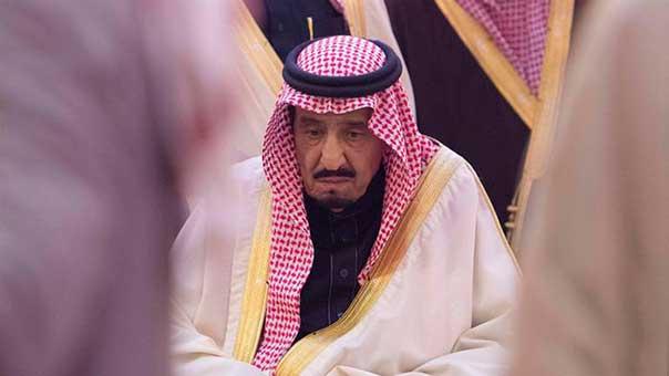الملك السعودي