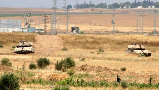 توغل على حدود غزة