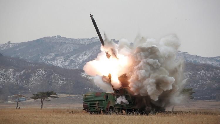 كوريا الشمالية - إطلاق صواريخ بالستية