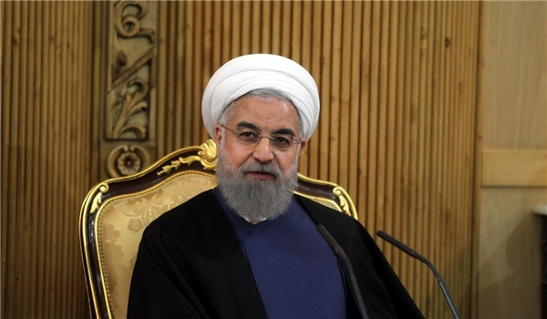 الرئيس روحاني : ايران تتولى ضمان امن الطاقة لباكستان