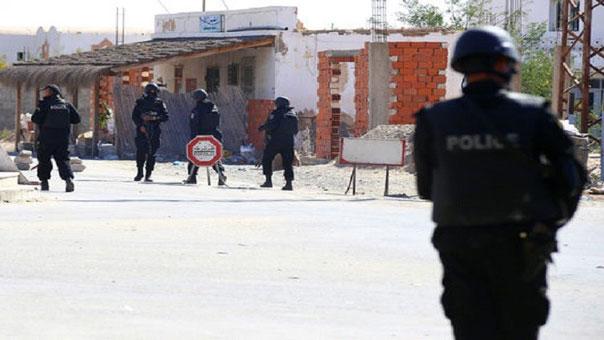 قوات من الشرطة التونسية