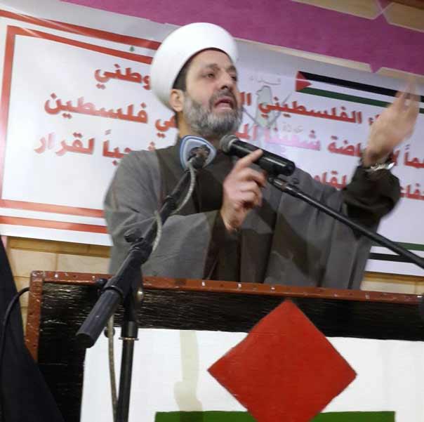 لقاء تضامني في البداوي دعماً للمقاومة ورفضاً لقرارات الجامعة العربية و''التعاون الخليجي''