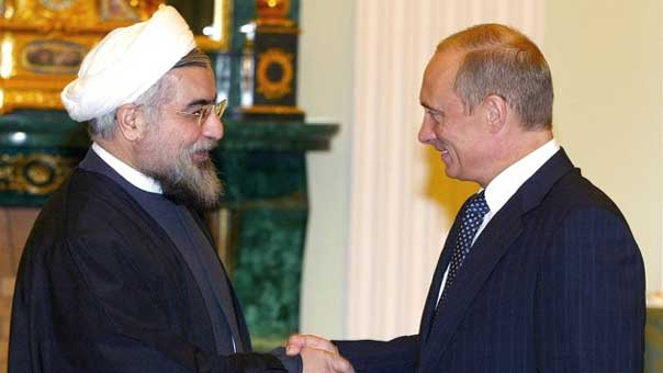 بوتين والشيخ روحاني