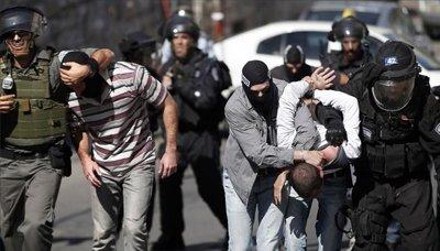 قوات الاحتلال الإسرائيلي تعتقل 9 فلسطينيين بالضفة الغربية