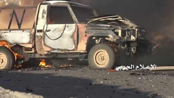 الجيش اليمني واللجان الشعبية يصدون محاولات العدوان للتقدم ويكبدوهم خسائر فادحة