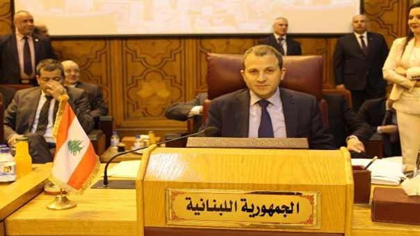 باسيل من القاهرة